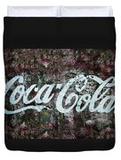 Coca Cola Wall Duvet Cover
