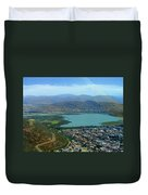Cochabamba Lake Duvet Cover