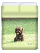 Cockapoo Puppy Duvet Cover