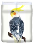Cockatiel 1 Duvet Cover