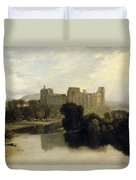 Cockermouth Castle Duvet Cover