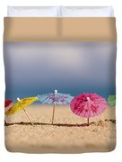 Cocktails In The Sand Duvet Cover