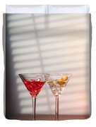 Cocktails With Strainer Duvet Cover