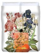 Coco Mademoiselle Notes Duvet Cover