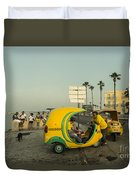 Coco Taxi's  Duvet Cover