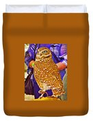 Coco The Burrowing Owl In Living Desert Zoo And Gardens In Palm Desert-california Duvet Cover