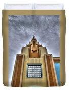 Cocoa Art Deco-1 Cr Duvet Cover