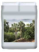 Cocohatchee River  Duvet Cover