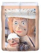 Coconut Family Duvet Cover