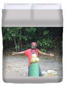 Coconut Man Duvet Cover