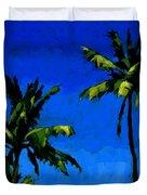 Coconut Palms 5 Duvet Cover