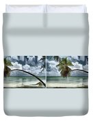 Coconut Tree Duvet Cover