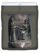 Code Of Hammurabi. Duvet Cover