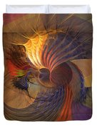 Code Of Justice Duvet Cover