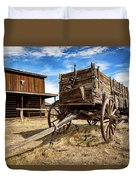 Cody Wagon Train Duvet Cover