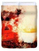 Coffe Grinder Duvet Cover