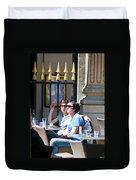 Coffee And Cigarettes Duvet Cover