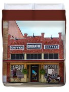 Coffee Anyone  Duvet Cover