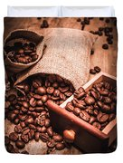 Coffee Bean Art Duvet Cover