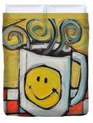 Coffee Cup One Duvet Cover