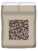 Coffee In Grain Duvet Cover