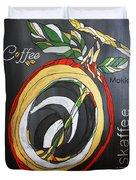 Coffee Mokka Duvet Cover