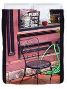 Jonesborough Tennessee - Coffee Shop Duvet Cover