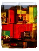 Coffee Shop Duvet Cover