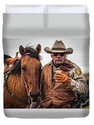Coffee To Go Duvet Cover