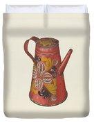 Coffeepot Duvet Cover