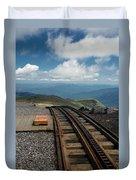 Cog Railway Stop Duvet Cover
