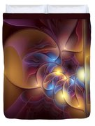 Coherence Of Desire Duvet Cover