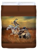Cohick's Mural Duvet Cover