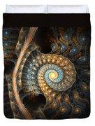 Coiled Spirals Duvet Cover