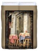 Coimbra Cafe Duvet Cover