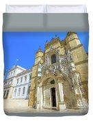 Coimbra Historic City Duvet Cover