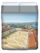 Coimbra University Aerial Duvet Cover