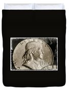 Coin Collector Vi Duvet Cover