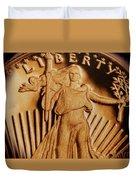 Coin Collector Viii Duvet Cover