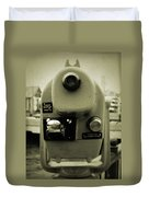 Coin Operated Telescope Duvet Cover