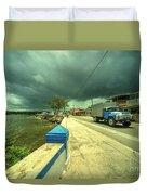Cojimar Truck  Duvet Cover