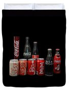 Coke From Around The World Duvet Cover