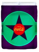 Coke N Lime Duvet Cover