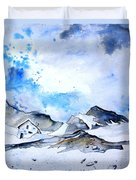 Col Du Pourtalet In The Pyrenees 01 Duvet Cover