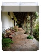 Colchagua Valley Porch Duvet Cover