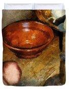 Cold Comfort Kitchen Duvet Cover