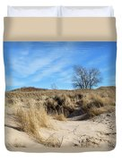 Cold Dune Day Duvet Cover