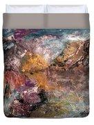 Mountain's, Cold Morning Light Duvet Cover