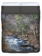 Cold Mountain Stream Duvet Cover