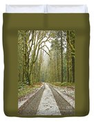 Cold Paths Duvet Cover